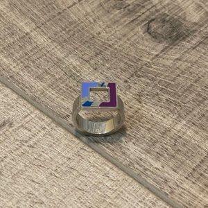 SWATCH JEWELRY RING - Size: 8